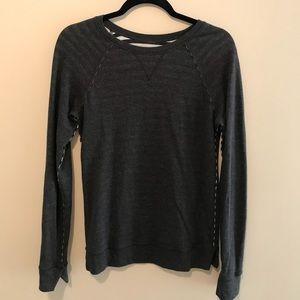 Lululemon Grey/Striped Sweater